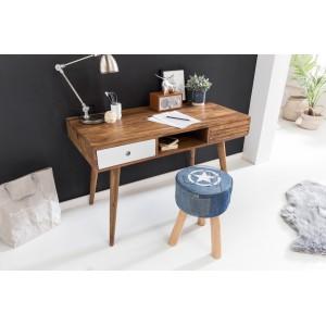 REPA tömör rózsafa / fehér íróasztal Íróasztalok