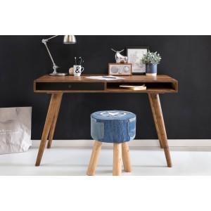 REPA II tömör rózsafa / fekete íróasztal Íróasztalok