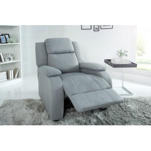 COMFY  kényelmi design fotel - világosszürke Ülőbútor