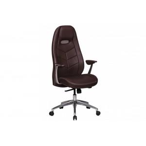 SPEED bőr íróasztali szék - barna Irodai székek