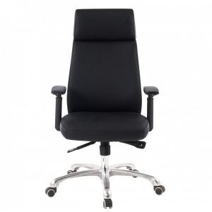 PORT bőr íróasztali szék - fekete Irodai székek
