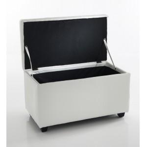 ALESSIO S ülőpad - fehér Ülőbútor