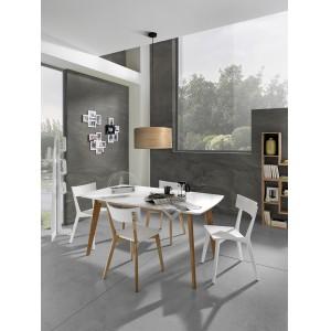 TARANTO bővíthető design étkezőasztal Étkezőasztalok