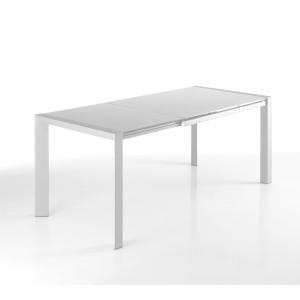 MARINA bővíthető design étkezőasztal - fehér Étkezőasztalok