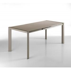 MARINA bővíthető design étkezőasztal - tortora Étkezőasztalok