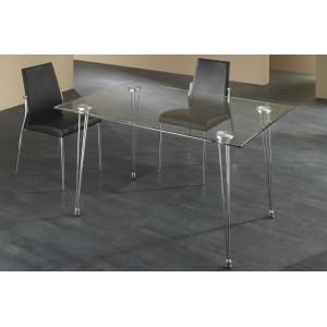 MATRA üveg étkezőasztal / íróasztal Étkezőasztalok