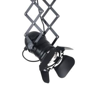 PANTOGRAPH fekete állítható design függőlámpa Függőlámpák