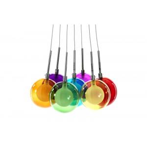 COLOR BALLS üveg függőlámpa Függőlámpák