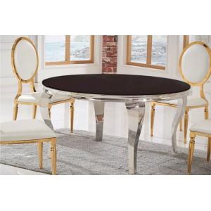 MODERN BAROCK kerek design étkezőasztal 120/140cm Étkezőasztalok