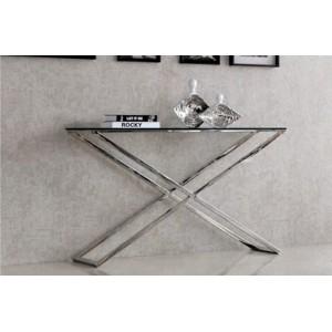 GISELLE üveg konzolasztal - 120cm Asztal