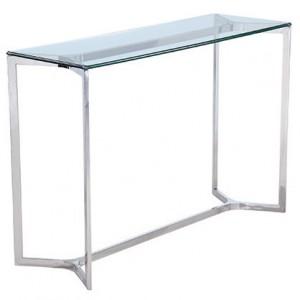 CAMILLE üveg konzolasztal - 120cm Asztal