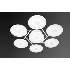 VINYL 7 modern LED design mennyezeti lámpa LED design
