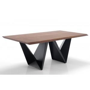 FIORENTINO diófa design étkezőasztal Étkezőasztalok
