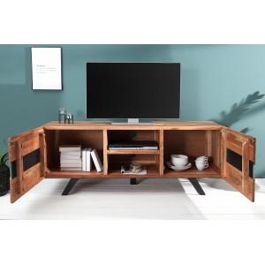 RIVER tömör akác TV-szekrény - 160cm TV szekrények