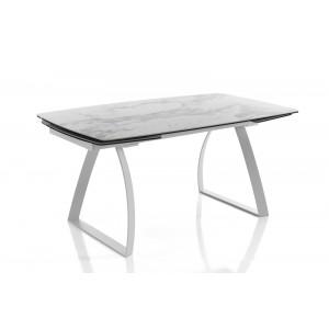CARONIA márvány design bővíthető étkezőasztal Étkezőasztalok